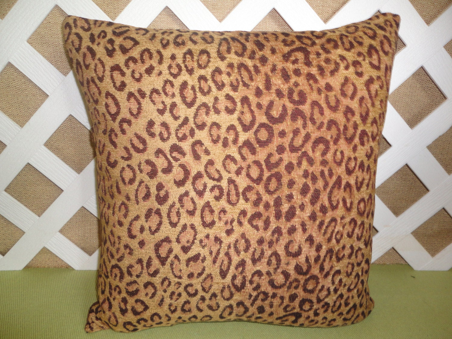 Animal Print Pillow Covers : Animal Print Pillow Cover/ Leopard Print by JRsPillowsandBags