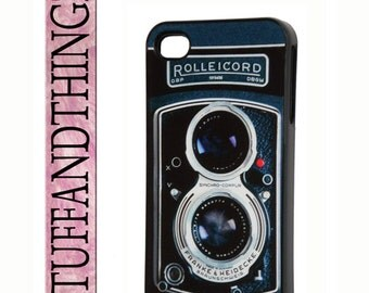 iPhone 4/4S Vintage Rolleicord Retro Camera Hard Case Cover iPhone 4