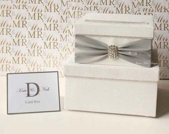 Wedding Card Box Money Box Wedding Gift Card Money Box  - Custom Made to Order