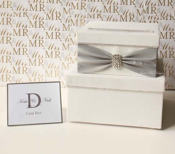 Wedding Gift Card Or Cash : Wedding Card Box Money Box Wedding Gift Card Money BoxCustom Made ...