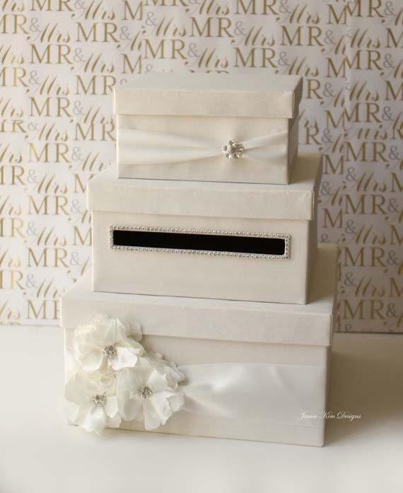 Wedding Mailbox Gift Holder : Wedding Card Box, Money Box, Gift Card Holderchoose your box ...