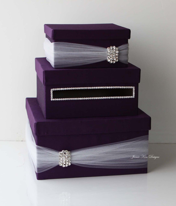 Wedding Card Box: Wedding Card Box Money Box Wedding Gift Card Money Box
