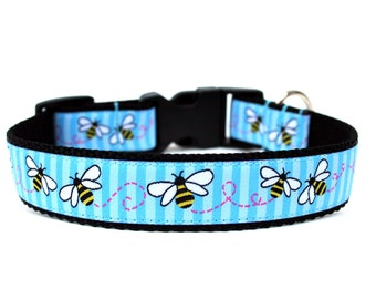 "Spring Dog Collar 1"" Summer Dog Collar"