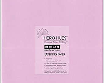 SALE Hero Arts Lilac Layering Paper PS594