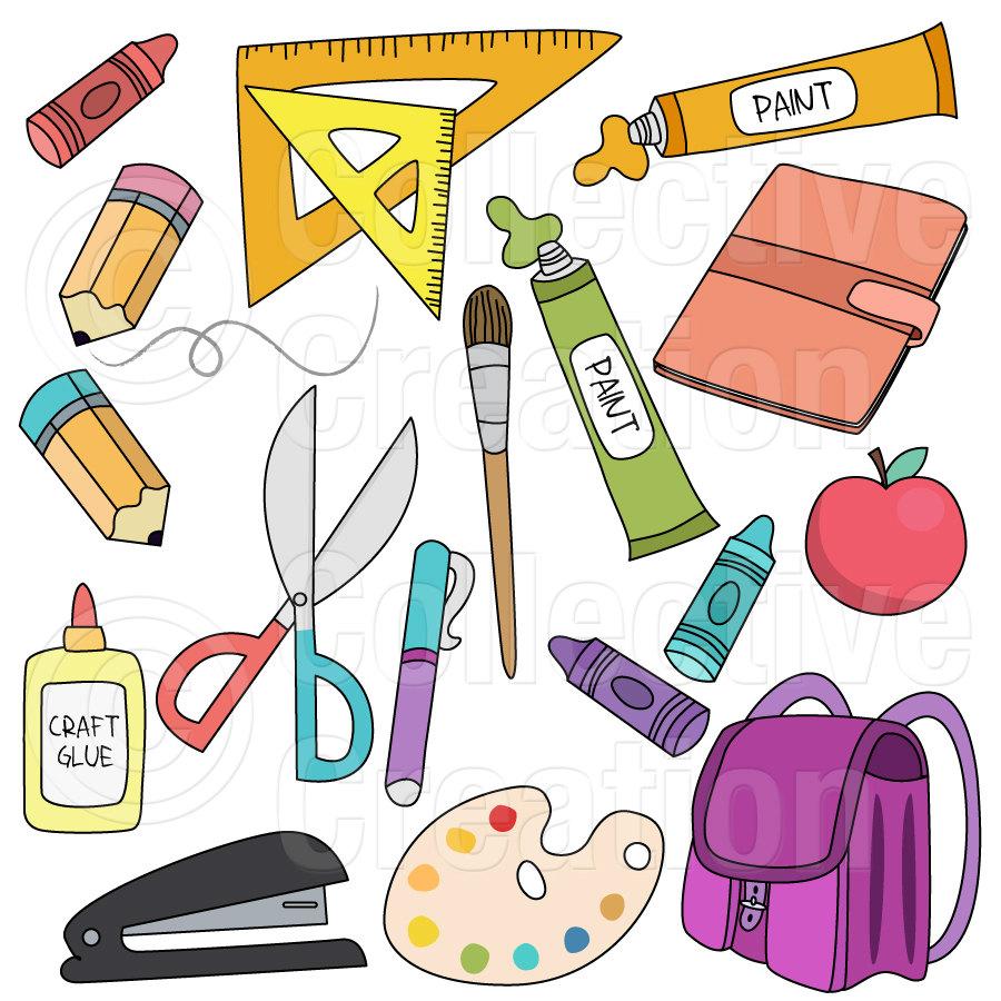 clipart school supplies - photo #3