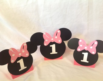 Minnie Mouse Balloon Centerpieces