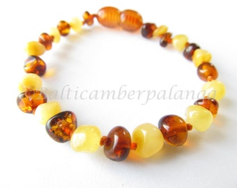 Baltic Amber Teething Bracelet/Anklet