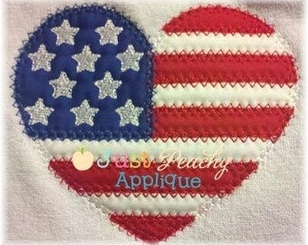 Vintage Heart Machine Embroidery Applique Design Buy 2 for 4! Use Coupon Code 50OFF