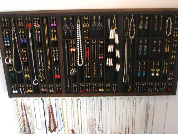 Jewelry Display with stud slots - A2ESP