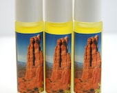 Aromatherapy Roll-on Perfume: Sedona Fragrance - All Natural and Organic