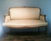 Reserved // Antique French Settee