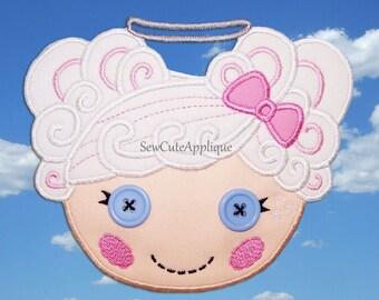 Cloud E Sky Lalaloopsy No Sew Applique Patch