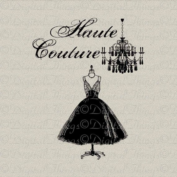 french fashion chandelier haute couture 1950 dress digital. Black Bedroom Furniture Sets. Home Design Ideas