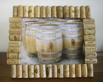 8x10 Wine Cork Picture Frame