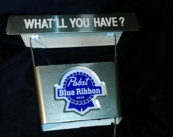 Pabst Blue Ribbon Vintage Bar Light