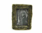 Dracula and Mina Photograph 1-inch scale dollhouse miniature