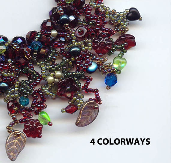 Bead Kits, Bracelet Bead Pattern, 4 Colorways