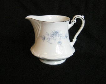 Vintage Cream Pitcher - Elegant Lady Pattern
