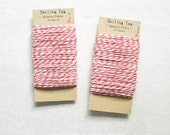Bakers Twine 20 Meters pack - 4 Ply - Gift Tags - Gift Wrap - Scrapbooking - Packaging - Wedding - (Item code: R302)