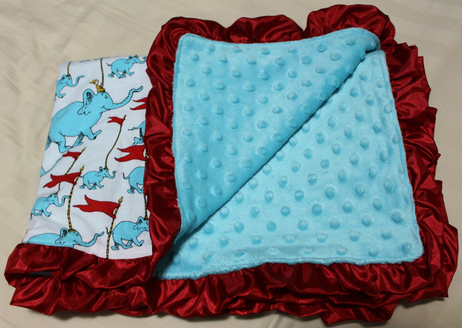 Dr Seuss Oh The Places You Ll Go Baby Blanket