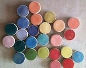 Color sample magnet set of 5