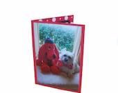 Handmade Cairn Terrier Card, Blank Dog Card
