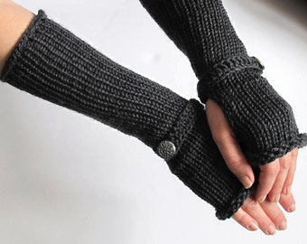 Womens Fingerless Gloves To Match The Vampire Diaries Hat