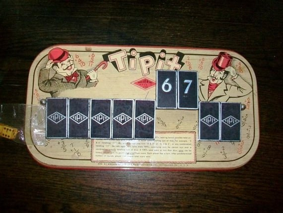 Vintage Game Tipit by Wolverine 1930s