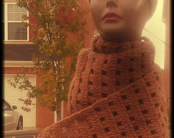 Crochet Head/ear warmer and scarf