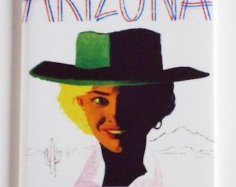 Travel Arizona Fridge Magnet