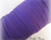 "1/4"" Purple Elastic. Narrow Purple Elastic.  5 Yds"