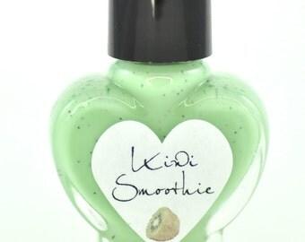Kiwi Smoothie Green Nail Polish 5ml Mini Bottle