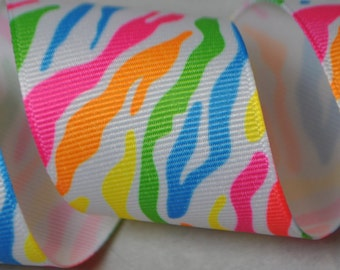 Neon Stripes -  3 yards, 1.5 inches wide