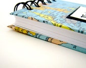 Travel Notebook / Journal with Custom Map