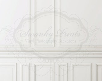 5ft x 6ft Chair Rail / Vinyl Photography Backdrop / NEW ITEM