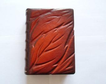 Blank Notebook Diary Journal - Handmade Leather Craft 2