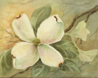 Dogwood Print - 5 x 7 inches