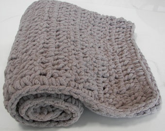 BABY SAND Baby Blanket  Light Brown Thick Super Soft Light Plush Blanket ~  Great Baby Gift - Photo Prop - Basket - Pail Filler