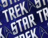 REMNANT PIECE - Camelot - Star Trek Logo on Blue