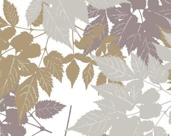 Andover - Fairmount Park - Leaves - Cream