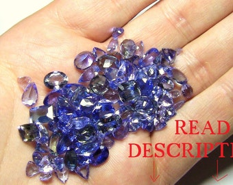 Tanzanite Variety Of Shapes And Sizes