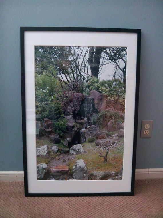 Reduced Price/Sale--Japanese Tea Garden San Francisco, CA--matted and framed photo