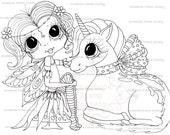 INSTANT DOWNLOAD Digital Digi Stamps My Besties TM Big Eye Big Head Dolls Digi IMG706 By Sherri Baldy