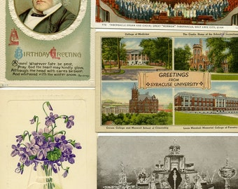 25 Vintage Postcards from the ages past-Great collection