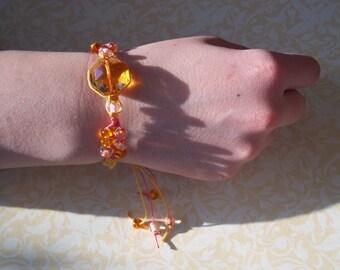 Hemp Hippie Knotted Macrame Bracelet-So Groovey! Handmade Affordable Price!
