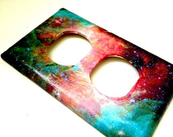 Electrical Socket Plate Cover--Galaxy Space