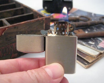 1960s Vintage L.D.L. Japan windproof lighter - REHABBED - Great daily user