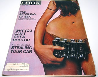 Vintage Look Magazine 1971 Peddling of Sex 1970s BB King
