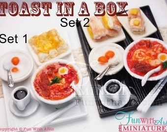 Toast in A box - Singapore Laksa