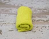 Newborn Knit Stretch Wrap, Newborn Photography Prop, Ready to Ship - Lime Green
